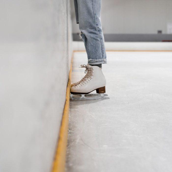Eislaufen im Zillertal