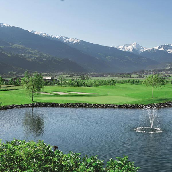 Golf vacation in Zillertal