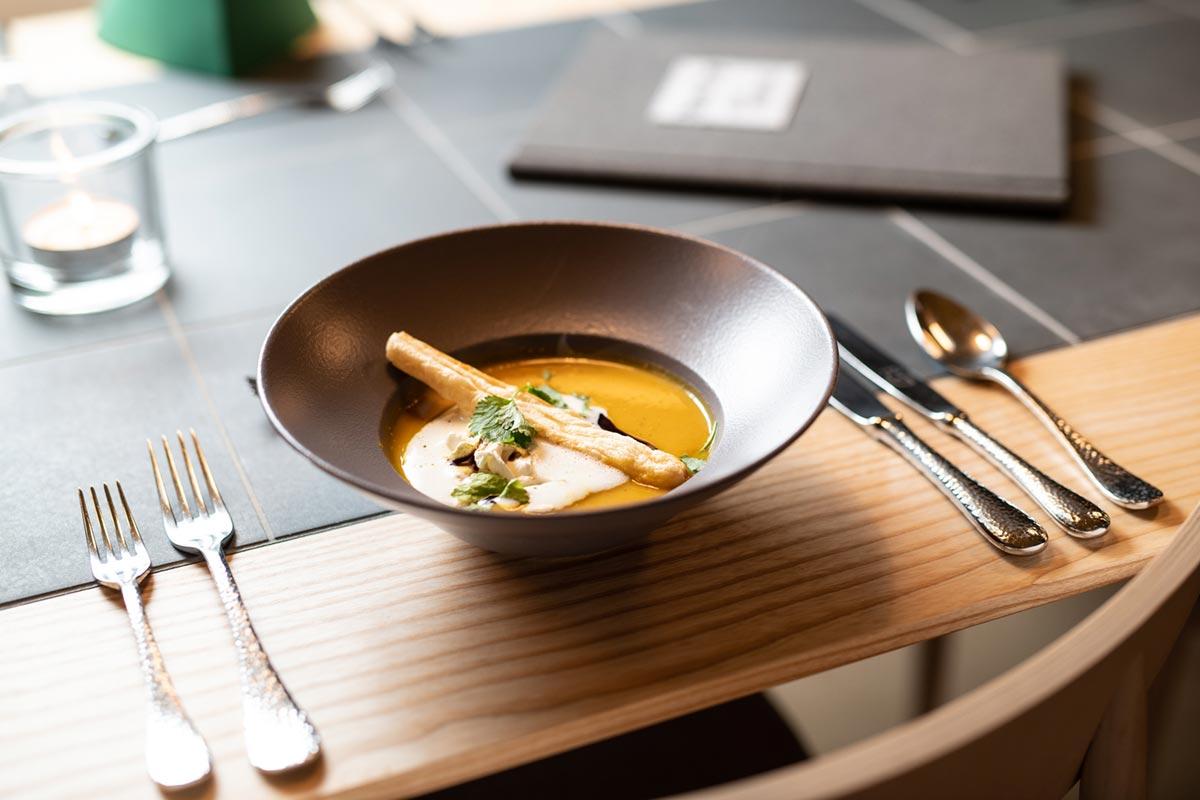 Kürbiscreme Suppe
