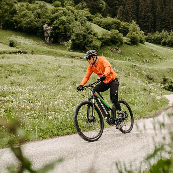 Mountainbike vacation in Zillertal