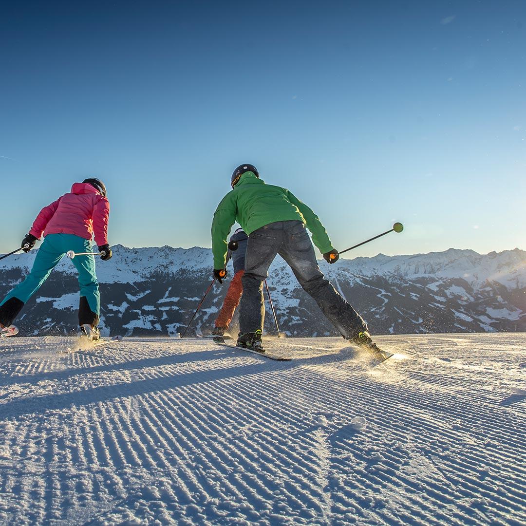Schifahren im Zillertal