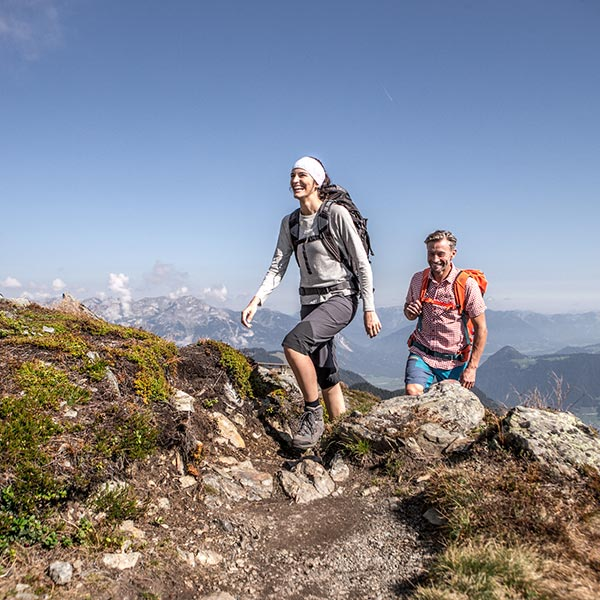 Hiking vacation in Zillertal